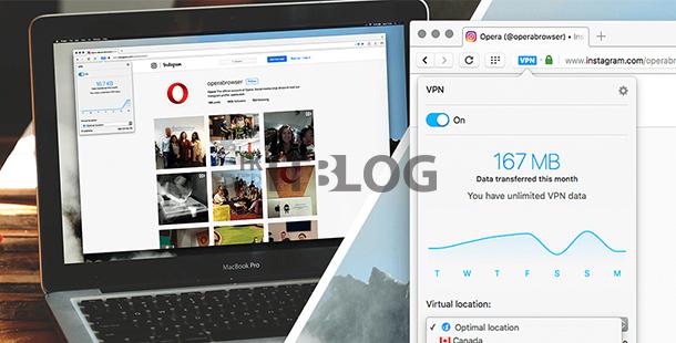上網更安全?新版 Opera 40 瀏覽器將內建 VPN 功能