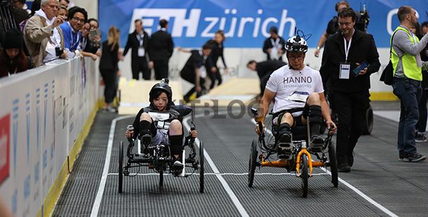 港發明電動輪椅蘇黎世 Cybathlon 人機合一大賽奪季軍
