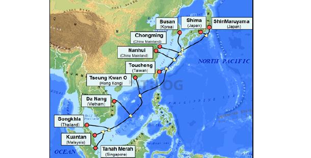 全長 10,900 公里!亞太直達海纜正式完工