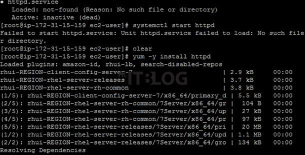 如何在 AWS 之中安裝及測試 Apache?