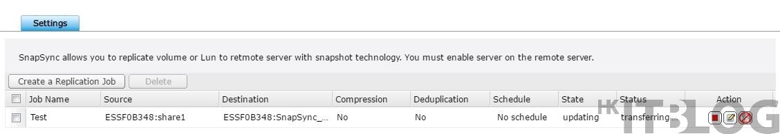 QNAP ES1640dc SnapSync 照玩本地及遠端複製
