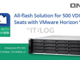如何使用 QNAP NAS 部署 500 個 VMware Horizon View 全快閃方案?