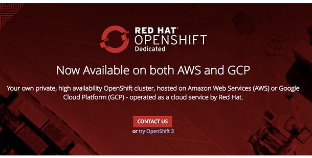 Red Hat x Google Cloud:OpenShift Dedicated 容器即服務現身!