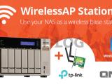 NAS 究竟還可變成甚麼?QNAP 新功能讓你 NAS 自建無線基地台!