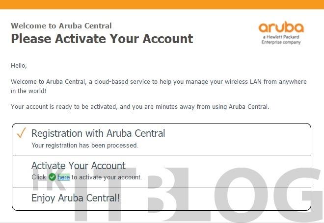 快速管理過百台 AP!如何取得 Aruba Network Portal 分配授權 (1)?