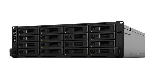 為虛擬化而設:Synology 機架式伺服器全面提升速度及擴充性