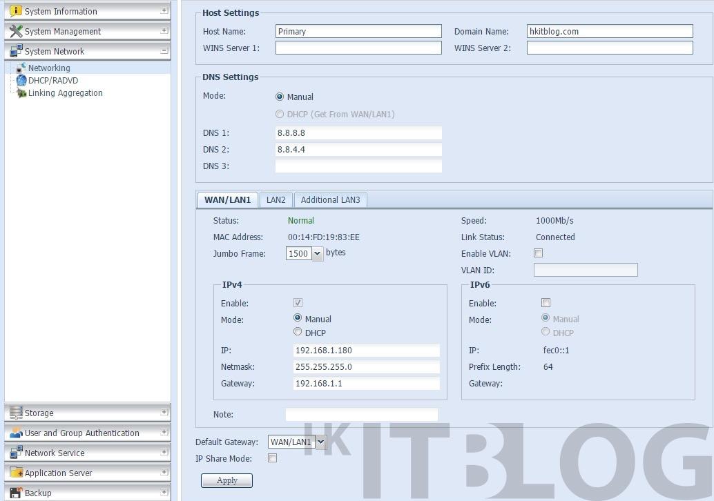 NAS 架設私有雲高可用性的初始化設定(2)