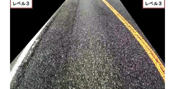 AI 技術開發道路路面管理系統:車轍痕跡、路面龜裂一目了然