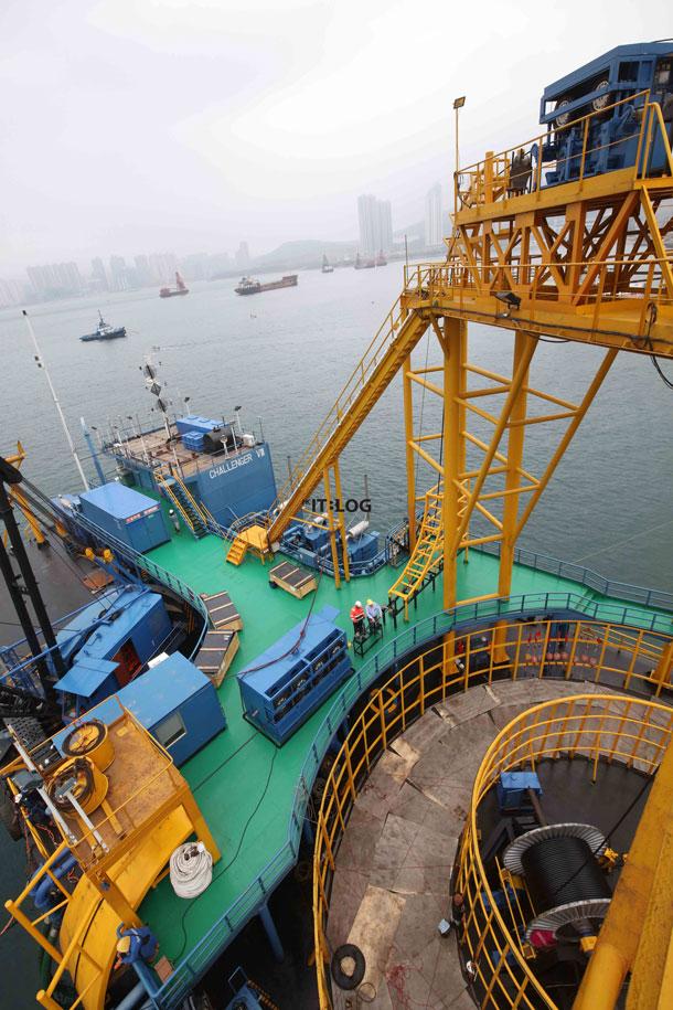 首條連接將軍澳工業村與柴灣的海底光纜正式啟用