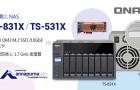 NAS 支援快取機制:加入 QM2 M.2 SSD/10GbE 擴充卡、四核心 1.7 GHz 處理器