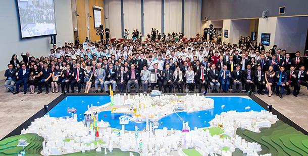 3D 打印創意維港模型!香港中學生締造健力士世界紀錄
