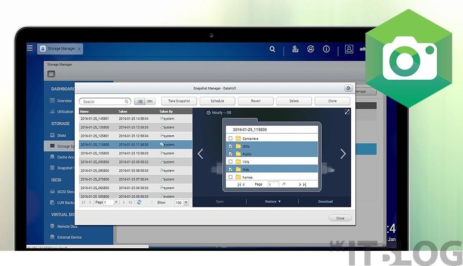 iSCSI LUN 區塊層級快照︰縮短 RPO 同時確保資料一致性!