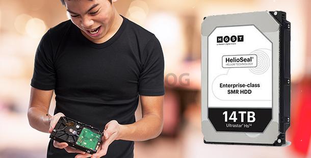 滿足大量數據需求:全球首款 14TB 企業級硬碟正式面世!