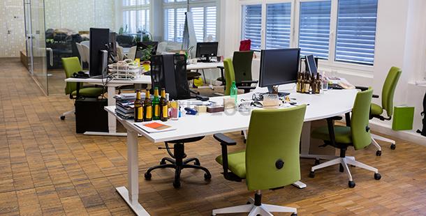 辦公室位置優勢不再:科技化、僱員喜好將左右租用決定!