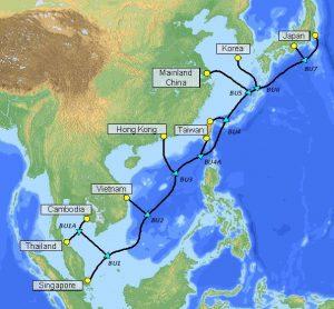 全新「SJC2」光纖海底電纜連接亞洲各地